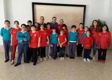Colegio Agave de Almería, segundo clasificado en el VI Campeonato de España por Equipos de Colegios.