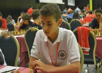 Lance Henderson de la Fuente, Campeón de España Sub 14. 2017