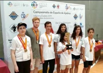 La Selección andaluza Infantil Campeona de España.