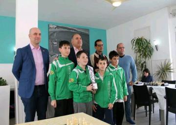 Puerta Elvira Campeón de la Copa Andalucía Sub 12.