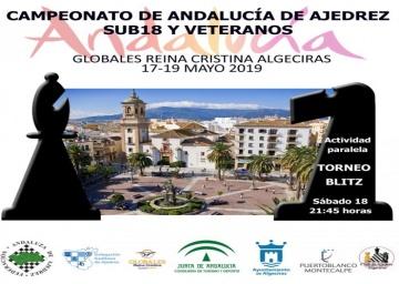 Convocatoria del Campeonato de Andalucía de Veteranos - 2019.