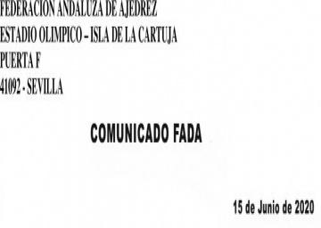 Comunicado FADA