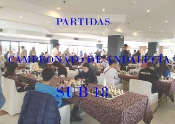 Partidas Cto Andalucía Sub 18 - 2018