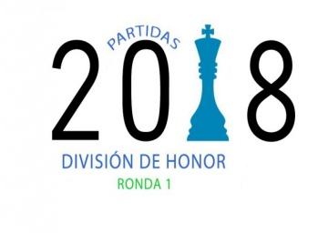 Partidas División de Honor 2018 - Ronda 1
