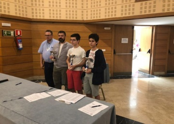 Nicolás Ramírez Sánchez, campeón del Campeonato de Andalucía Andaluz B 2019.