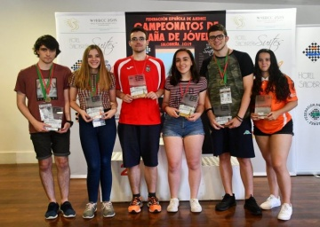 Campeonato de España Sub 18 Rápido.