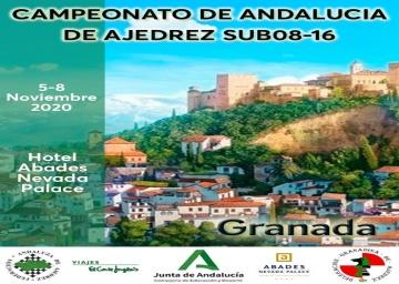 Campeonato de Andalucía Sub 08-10-12-14-16, 2020