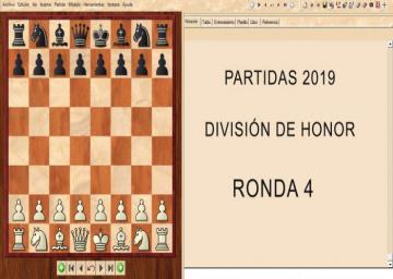 Partidas División de Honor 2019 - Ronda 4