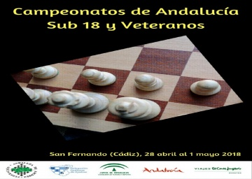 Convocatoria del Campeonato de Andalucía Sub 18 2018.