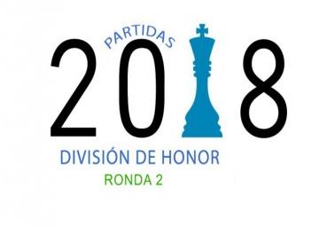 Partidas División de Honor 2018 - Ronda 2
