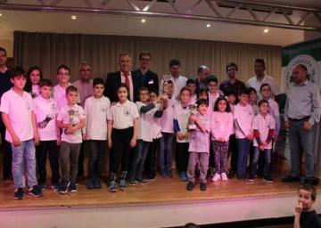 Sevilla, campeona por equipos en la Categoría Sub08-10-12