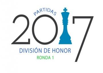 Partidas División de Honor. Ronda 1