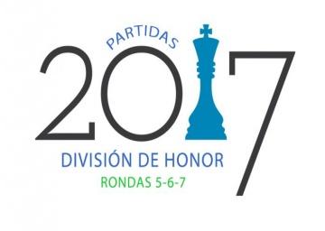 Partidas División de Honor. Rondas 5, 6 y 7