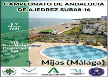 Campeonato de Andalucía de Ajedrez Sub08-16