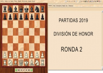 Partidas División de Honor 2019 - Ronda 2