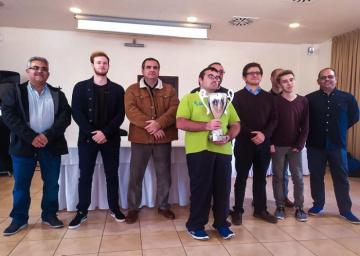 C.A Coín de Málaga, campeón de Andalucía por equipos.