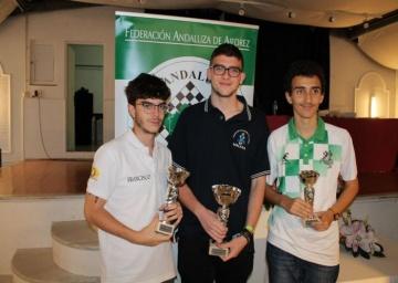 MF Salvador Guerra Rivera, Campeón de Andalucía Sub 18 - 2019.