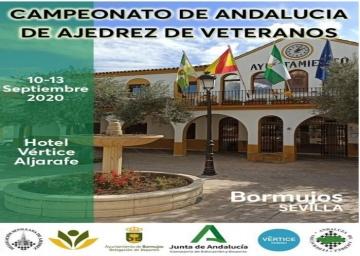Convocatoria del Campeonato de Andalucía de Veteranos 2020.