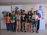 Miguel Santos Ruiz y Ana del Carmen Redondo Benavente Campeones de España Sub 18