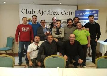La Trocha Coín, Campeón de Andalucía por Equipos.